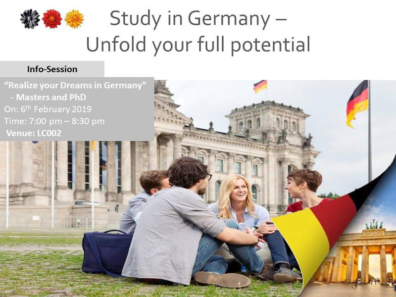 Study in Germany (for PGs & PhD) | InstiApp | IIT Bombay